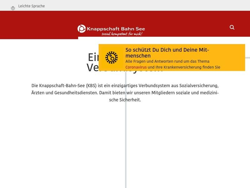 Screenshot von http://www.kbs.de